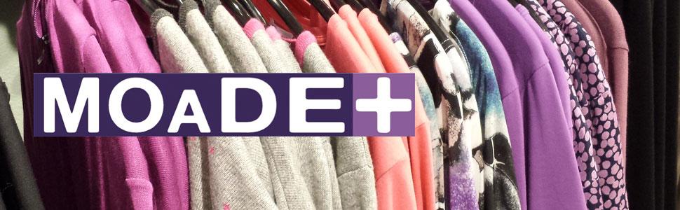 Grote maten mode en handwerkmateriaal bij MOADE+